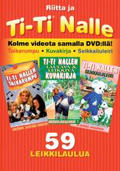 Ti-Ti Nallen kokoelma 3, 59 leikkilaulua dvd