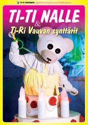 Ti-Ti Nalle ja Ti-Ri Vauvan synttärit dvd