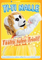 Ti-Ti Nalle: Täältä tulee Trioli! dvd