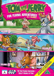 Tom ja Jerry BOX 1+2+3 dvd