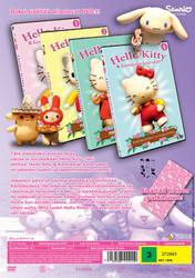 Hello Kitty dvd keräilybox 1+2+3+4 dvd