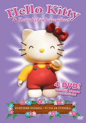 Hello Kitty dvd keräilybox 1+2+3+4 dvd