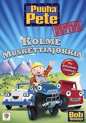Puuha-Pete Hommat hoituu: Kolme muskettiajokkia dvd