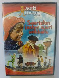 Saariston lasten suuri seikkailu dvd