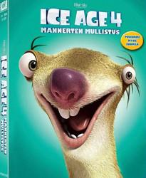 Ice Age 4 Mannerten mullistus dvd