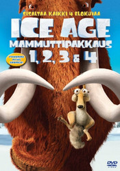 Ice Age Box 1+2+3+4 dvd