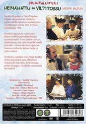 Heinähattu ja Vilttitossu joulun jäljillä dvd