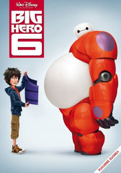 Big Hero 6 dvd, Disney Klassikko