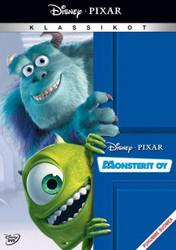 Monsterit Oy dvd, Disney Pixar Klassikko