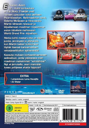Cars Autot 2 dvd Disney Pixar