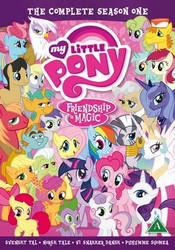 My Little Pony Kausi 1 BOX dvd