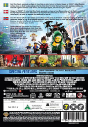 Lego Ninjago Movie Suomi dvd