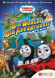 Tuomas Veturi: Suuri maailma! Suuret seikkailut! elokuva dvd