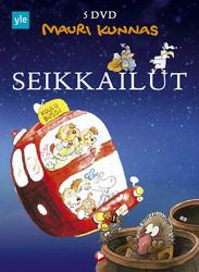 Mauri Kunnas Seikkailut BOX 1+2+3+4+5 dvd