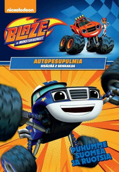 Blaze ja Monsterikoneet: Autopesupulmia dvd