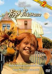 Peppi Pitkätossu 2 elokuvaa dvd