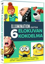 Itse Ilkimys BOX dvd Elokuvat 1+2+3