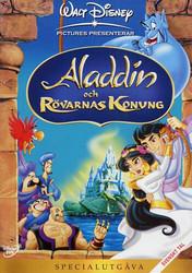 Aladdin ja Varkaiden kuningas dvd Disney