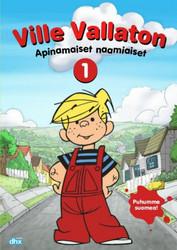 Ville Vallaton: Apinamaiset naamiaiset dvd