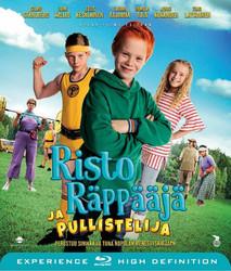 Risto Räppääjä ja pullistelija Blu-ray