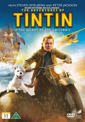 Tintin seikkailut: Yksisarvisen salaisuus dvd