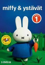 Miffy ja Ystävät BOX 1 Kokoelma dvd 3 levyä