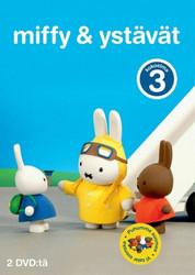 Miffy ja Ystävät BOX 3 Kokoelma dvd 2 levyä