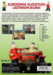 Hupsis-ukot Pat ja Mat: Ruohonleikkuri dvd