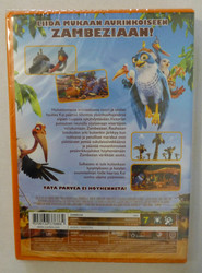 Zambezia Lintukodon siipiveikot dvd