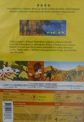 Kirikou ja viidakon eläimet dvd
