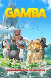 Gamba sankarihiiren seikkailut dvd