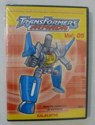 Transformers Armada Vol 05: Salaliitto dvd