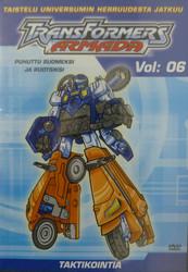 Transformers Armada Vol 06: Taktikointia dvd