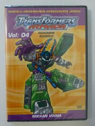 Transformers Armada Vol 04: Miekan voima dvd