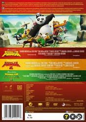 Kung Fu Panda BOX 1+2+3 dvd