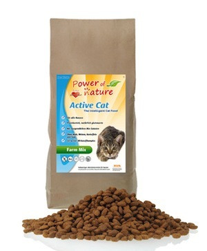 Power of Nature - Active Cat Farm Mix (kana, lohi ja lammas) 12 kg