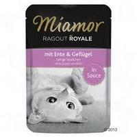Miamor Ragout Royal - lihanpaloja kastikkeessa 100g eri makuja