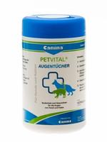 Canina Pharma Petvital silmänpuhdistuspyyhe kissoille ja koirille 120 kpl