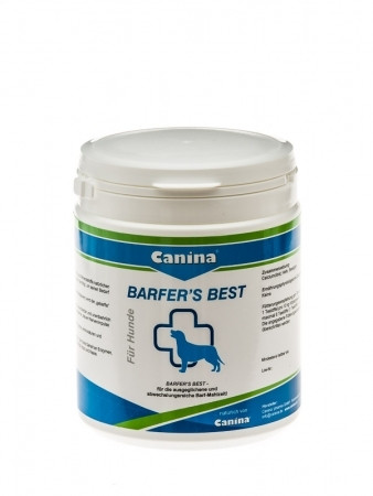 Canina Pharma Barfers Best - koira barfareille 180g ja 500 g