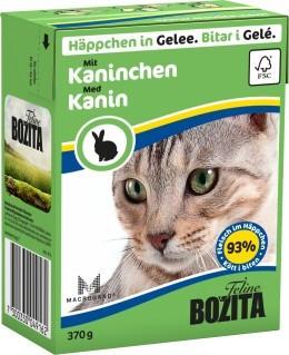 Bozita Feline Kaniini hyytelössä 370g