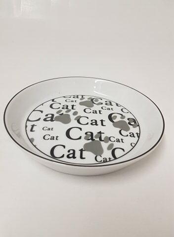 Cat keraaminen ja matalareunainen kuppi Ø 17cm