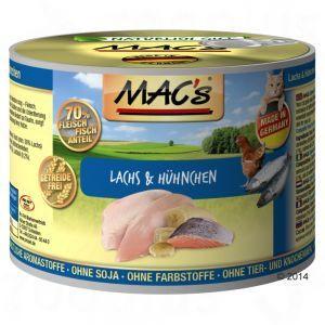 MAC's -kissanruoka 200g (eri makuja)