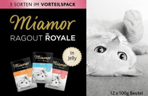 Ragout Royale Jelly - kalkkuna, lohi ja vasikka 100g x 12