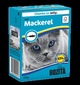 Bozita Feline palat hyytelössä sisältää makrillia 370g