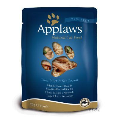 Applaws - Tonnikala & kultaotsa-ahven