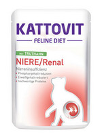 Kattovit Niere/Renal Kalkkuna 85g täysravinto, munuaisongelmiin