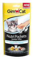 Gim Cat Nutri Pockets Junior mix