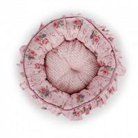 AFP kaunis kukkapeti laskoksilla, vaaleanpunainen