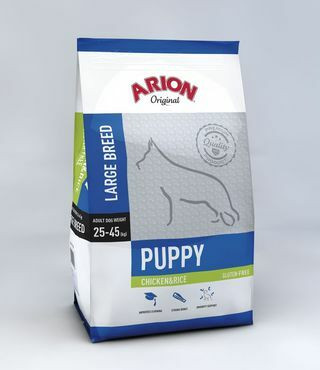 Arion Original Puppy Large Kana & Riisi