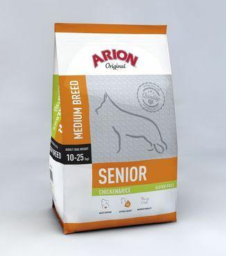 Arion Original All breeds SENIOR Kana&Riisi